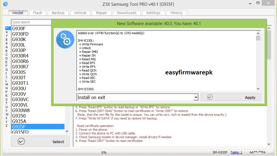 z3x latest 40.3 version released